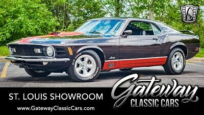1970 Ford Mustang Mach 1 Brown 1970 Ford Mustang  351 Cleveland H Code 3 Speed Automatic Available Now!