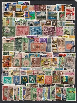 Super Selection Of 125 Stamps From The Commonwealth.f/U.all Different.nice Lot