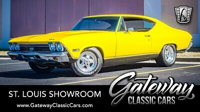 1968 Chevrolet Chevelle SS Yellow 1968 Chevrolet Chevelle coupe 396 C.I.D V8 700R4 Available Now!