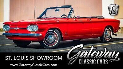 1964 Chevrolet Corvair  Red 1964 Chevrolet Corvair Convertible 2.7L Air Cooled Flat Six Automatic Availa