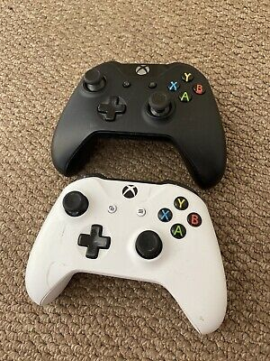 2x Official Microsoft Xbox One Wireless Controller Pads (Job Lot Bundle) FAULTY