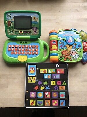 Leap Frog Leap Pad, Vtech Animal Nursery Rhymes Book, ELC Little Learning Pad