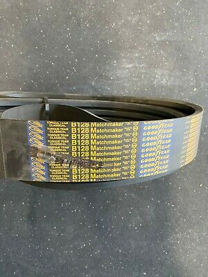 Goodyear 4/B128 Banded Accessory Drive Belt Industrial V-Belt NEW