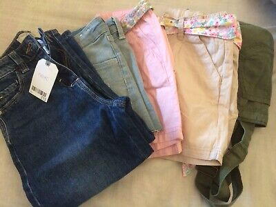 7-8 years girls summer clothes bundle Next H&M BNWT and used VGC