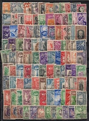 Commonwealth-Super Selection Of 215 Gvi F/U To G/U Stamps.very Good Lot.