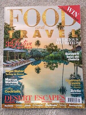 Food and Travel Magazine January 2018 Issue No 203
