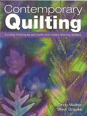 Quilt Instruction Book-Contemporary Quilting-Quilts From Award Winning Quilters