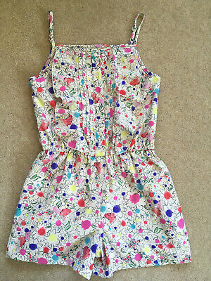 M & S 'Autograph' Girls Beautiful Playsuit  Excellent Condition Age 9-10