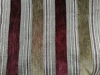 Laura Ashley Upholstery Fabric over 7m Stripe material for sofa/ chair /cushions