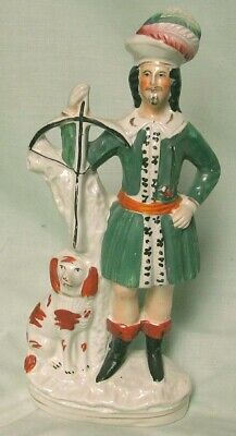 Staffordshire Figure  Prince Of Wales (Edw.v11) C.1870