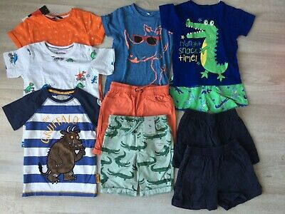Boys summer clothes age 4-5 including BNWT shorts and t-shirt