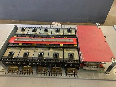 Square D breaker panel with 10 FA34030