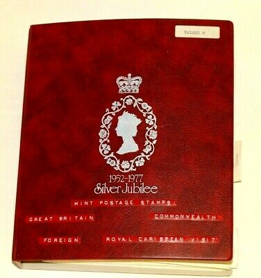Silver Jubilee Commonwealth countries stamp album. Mint Condition Stamps.