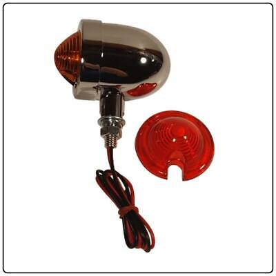 Royal Enfield Bullet Turn Signal Chrome | For Classic & Twin 650 Models