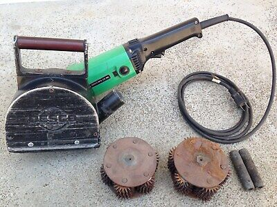 Desco Mini Flush Plate Hand Held Electric Scarifier