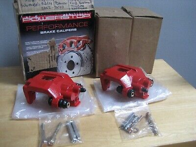 2 Powerstop Performance Brake Calipers S4754 792088839961 Left & Right Ford Expl