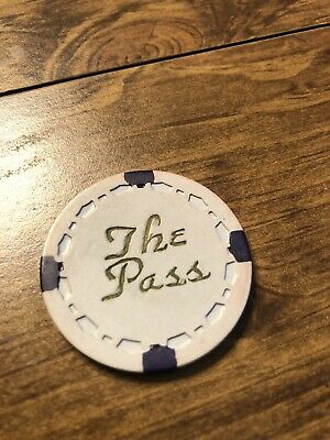 $20 the pass vintage card room chip california casino chip shipping is 3.99