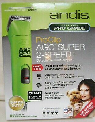 Andis ProClip AGC Super 2-Speed+ Detachable blade clipper
