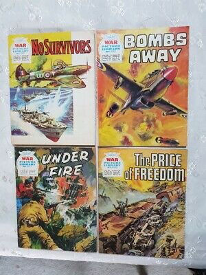 10 War Picture Library comics from late 1970's. Free postage. Lot 5