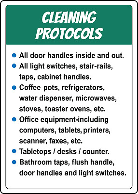 CLEANING PROTOCOLS | Adhesive Vinyl Sign Decal