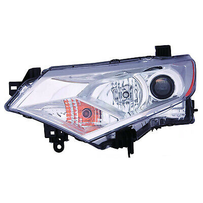 NI2502229OE New Driver Side Headlight Assembly