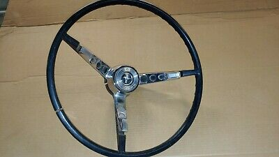 1965 1966 Ford Mustang Steering Wheel with Horn Ring OEM