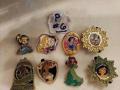 Disney princess Pin Lot #6 - 8 pins