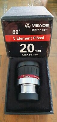 Meade Series 5000 60° 5 Element Plossl - 20mm Eyepiece 1.25""