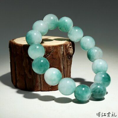Collectable China Old Jade Hand-Carved Smooth Texture Delicate Decorate Bracelet