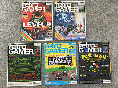 Retro Gamer 5 Issue Bundle - Issues 57, 58, 59, 60, 61