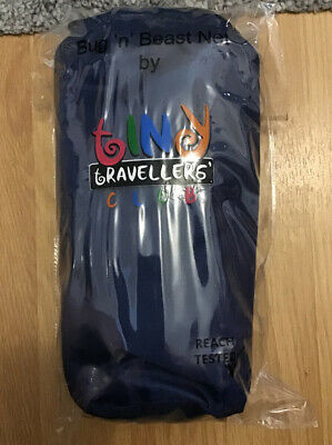 Tiny Travellers Club Cot Bug Insect Net Excellent Condition. Easy Access.
