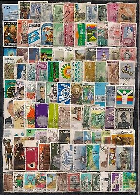 Commonwealth-Qeii Selection Of 200 F/U Stamps.looks All Different.nice Lot.