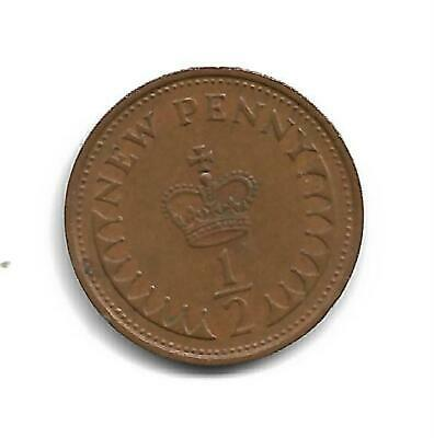 Half Pence - Decimal Coinage -  Issued 1971 - No Longer In Use