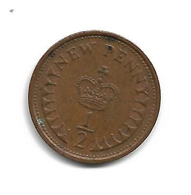 Half Pence - Decimal Coinage -  Issued 1973 - No Longer In Use