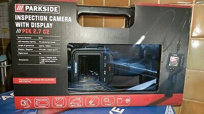 Parkside Inspection Camera With Memory Display PEK2.7 C2 endoscope borescope