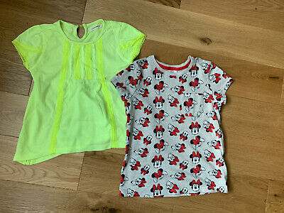 Girls Summer Top Bundle Age 6-7 Years Minnie Mouse