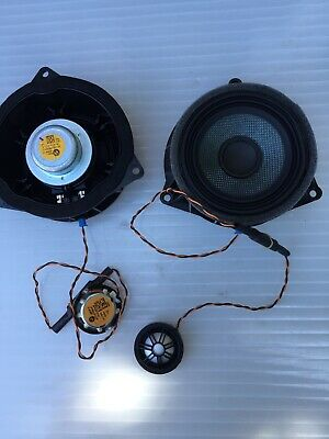 Bmw F15 F16 Harman Kardon Door Speakers And Tweeters Top Hifi  9277836   9286368
