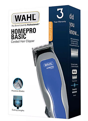 Twin Pack of Wahl HomePro Clipper Kit 9155-217 Corded Trimmer Like Colour Pro