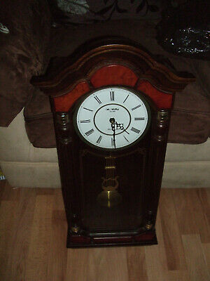 Wm Widdup,Westminster clock,chiming quartz clock in decorative case see pics