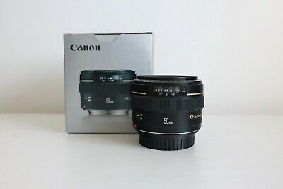 Canon EF 50 mm F/1.4 EF USM for Canon - Boxed - UK Warranty to Nov 2020
