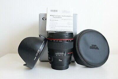 Canon EF 24 mm F/1.4 II USM - Boxed - Great Condition