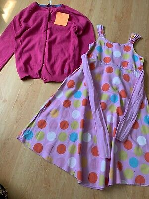 Girls Clothes Bundle JOULES Cardigan & Keedo Boutique dress  age 11-12 years