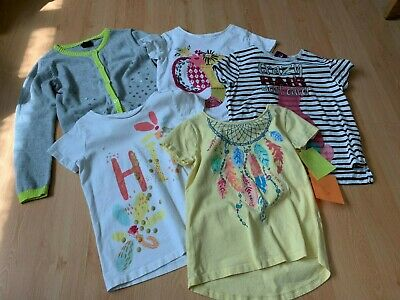 Girls Clothes Bundle t shirts tops & cardigan   age 6-7 years