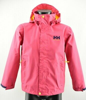 Helly Hansen Helly-Tech Girl`s Jacket Hooded Waterproof Breathable 152 cm 12 y