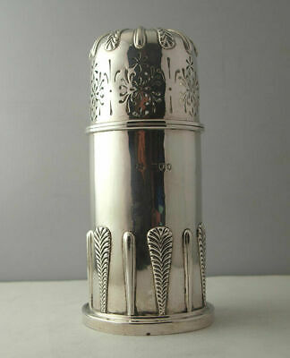 Victorian Solid Silver Lighthouse Sugar Caster - 312g - Mappin & Webb -1894