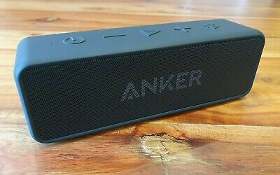Anker SoundCore 2 Portable Bluetooth 4.2 Speaker with 12W Stereo Sound - IPX5