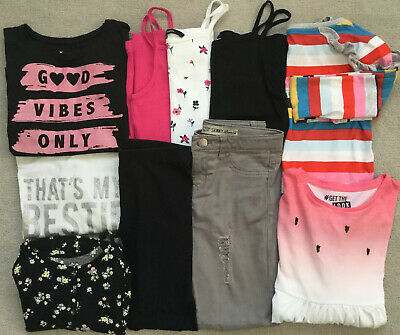Bundle Of Girls Clothes Aged 8-9 Years Summer Next, Primark, F&F, George