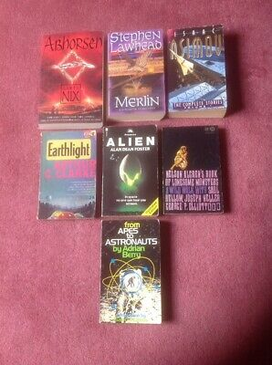 7 Paperbacks. Modern & Vintage. Sci-Fi, Fantasy, Fiction & Non-Fiction.