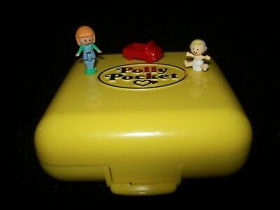 EUC 100% Complete Vintage Polly Pocket Midges Playschool 1989