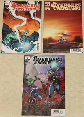 AVENGERS OF THE WASTELANDS (2020) Set #1 - 3 NM (Marvel Comics) !!